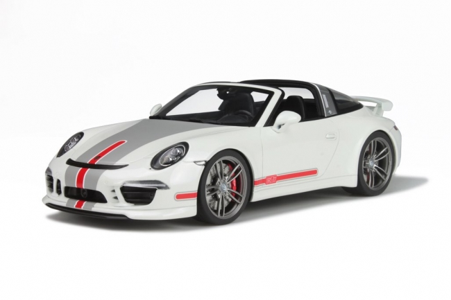 GT SPIRIT 1/18 2014年モデル ポルシェ 911 (991) タルガTECHART2014 PORSCHE 911 (991) Targa 1/18 white by GT Spirit