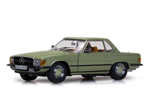 Sun Star サンスター 1:18 1977年モデル メルセデス・ベンツ 350SL ハードトップ 1977 Merceds Benz 350SL 1/18 by Sun Star