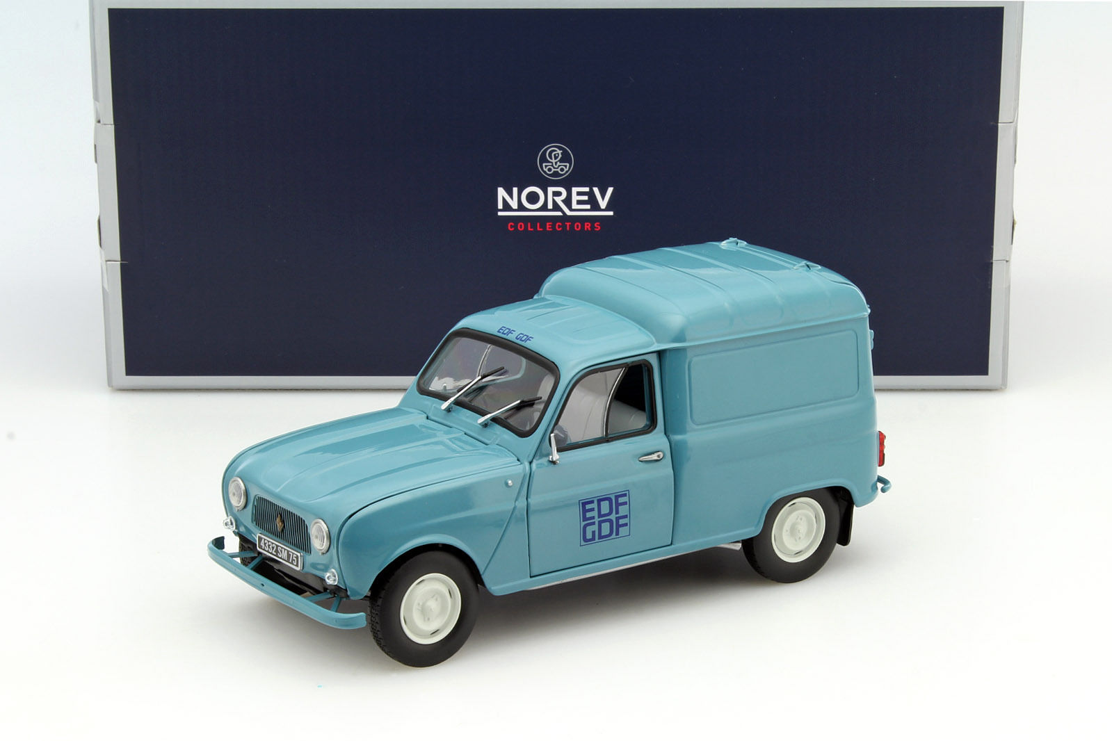 Norev 1:18 1965年モデル ルノー 4 Renault 4 Fourgonnette Year 1965 1/18 by Norev