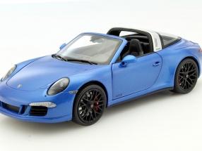 Schuco 1/18 2014年モデル ポルシェ 911 (991) タルガ 4 GTS サファイアブルー・メタリック2014 Porsche 911 (991) Targa 4 GTS sapphire blue metallic 1:18 Shuco