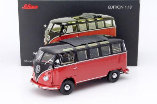 dtw corporation: schuco 1:18 1959 model volkswagen t1 t1b vw samba