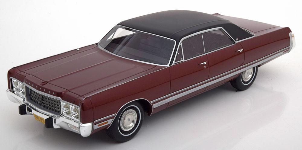 BoS Models 1:18 1973年モデル クライスラー ニューヨーカー ブロアムChrysler New Yorker Brougham 4-Door Sedan Year 1973 1:18 BoS-Models NEW