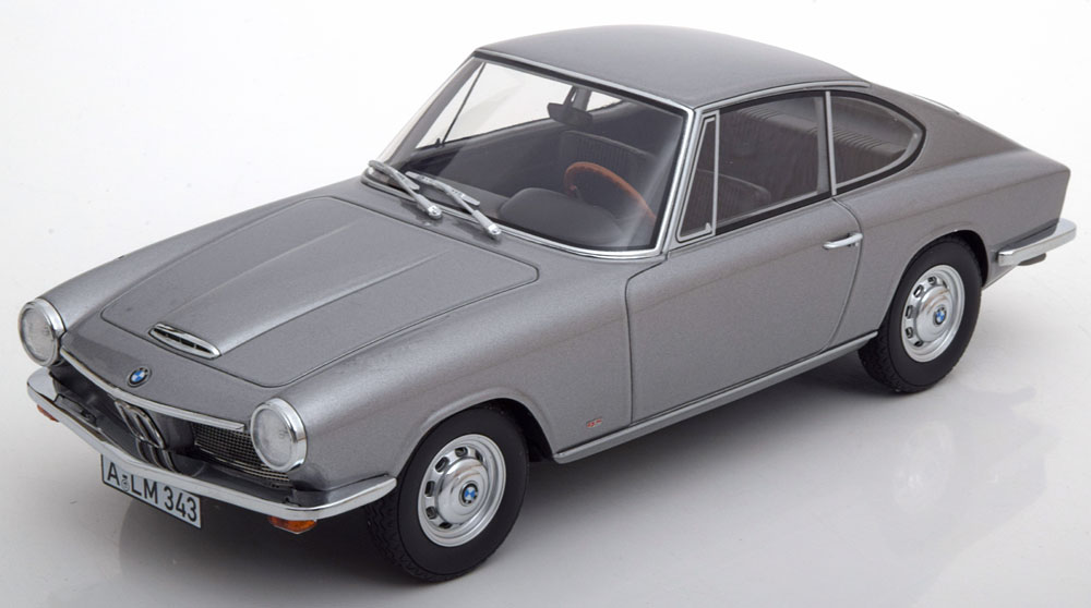 BoS Models 1:18 1968年モデル BMW 1600 GT シルバーBMW 1600 GT year 1968 silver 1:18 BoS-Models NEW
