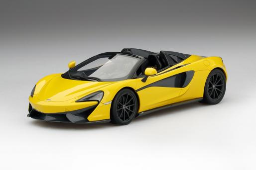 Top Speed トップスピード 1:18 2017年モデル マクラーレン 570S Spider ヴォルカノ イエロー2017 McLaren 570S Spider Volcano Yellow 1:18 by Top Speed NEW