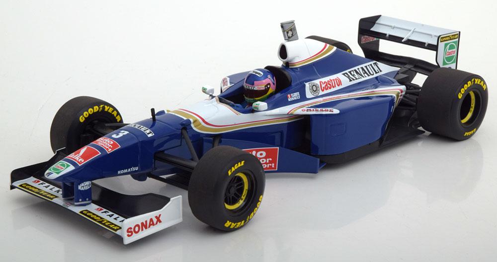 Minichamps 1/18 1997年 ウィリアムズ FW19 No.3 ジャック・ヴィルヌーヴJacques Villeneuve Williams FW19 #3 World Champion formula 1 1997 1:18 by Minichamps