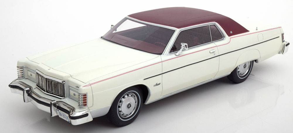BOS 1:18 1976年モデル マーキュリー マーキー1976 Mercury Marquis 2-Door Hardtop Coupe 1/18 BOS Models