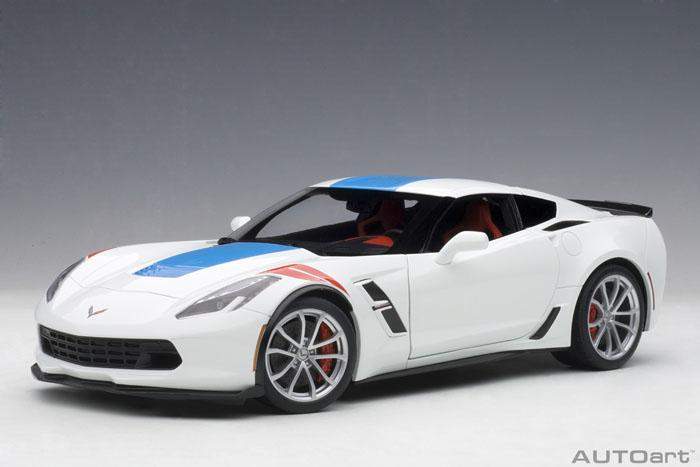 AUTOart 1:18 2017年モデル シボレー コルベット グランスポーツ 2017 Chevrolet Corvette Grand Sport 1:18 Scale by AUTOart USA