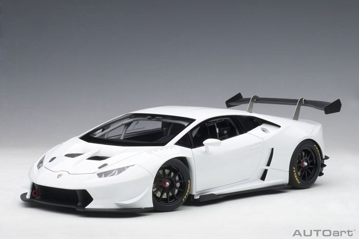 AUTOart オートアート 1:18 2015年モデル ランボルギーニ ウラカン LP620-2 Super Trofeo2015 Lamborghini Huracan LP620-2 Super Trofeo 1/18 Diecast Car Model by Autoart