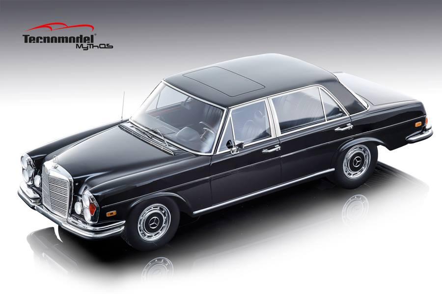 Tecnomodel テクノモデル 1:18 1968年モデル メルセデスベンツ S Class 300 SELMERCEDES BENZ - S-CLASS 300 SEL 6.3 1968 1/18 by Tecnomodel NEW