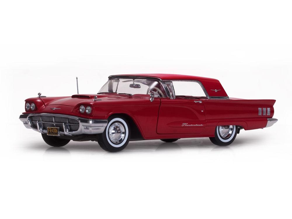 Sunstar サンスター 1:18 1960年モデル フォード サンダーバード レッドFORD USA - THUNDERBIRD HARD-TOP 1960 1/18 by Sun Star