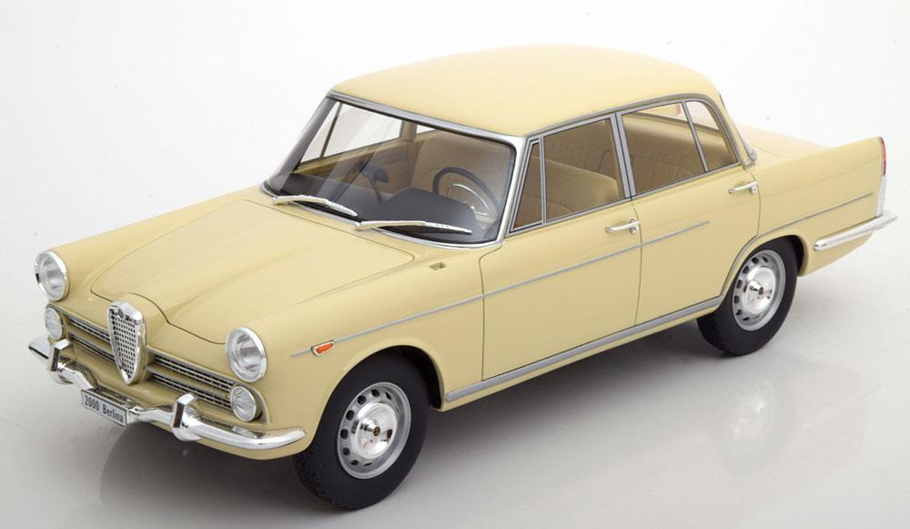 BoS Models 1:18 1958年モデル アルファロメオ 2000 ベージュ1958 Alfa Romeo 2000 1:18 BoS-Models NEW