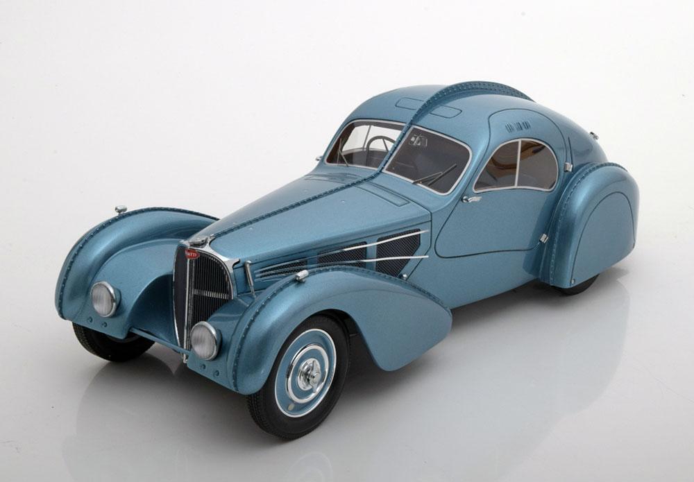 BOS Models 1:18 1938年モデル ブガッティ T57 SC アトランテック 右ハンドル仕様 Bugatti T57 SC Atlantic, RHD, 1938 1/18 by BOS NEW