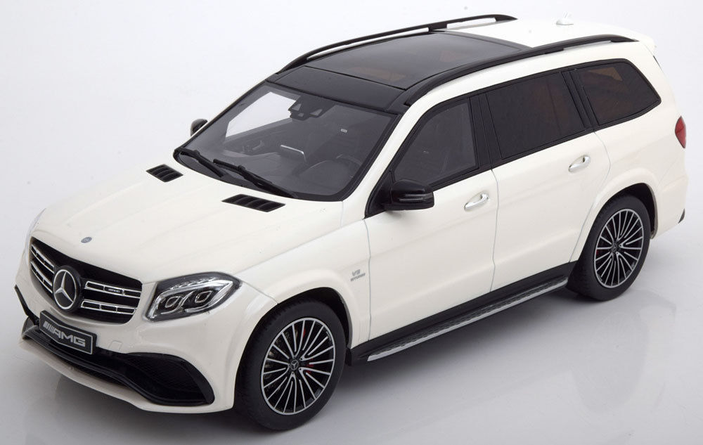 ディーラーモデル 1/18 2016年モデル メルセデスベンツ AMG GLS 63 ホワイト2016 MERCEDES-AMG GLS 63 1/18 white by Mercedes Benz AG EUR