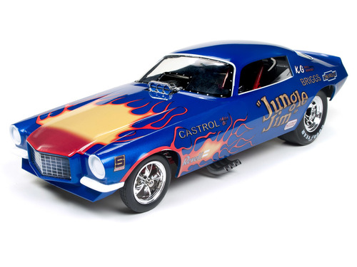 Autoworld オートワールド 1:18 1972年 シボレー カマロ Jungle Jim1972 Chevy Camaro