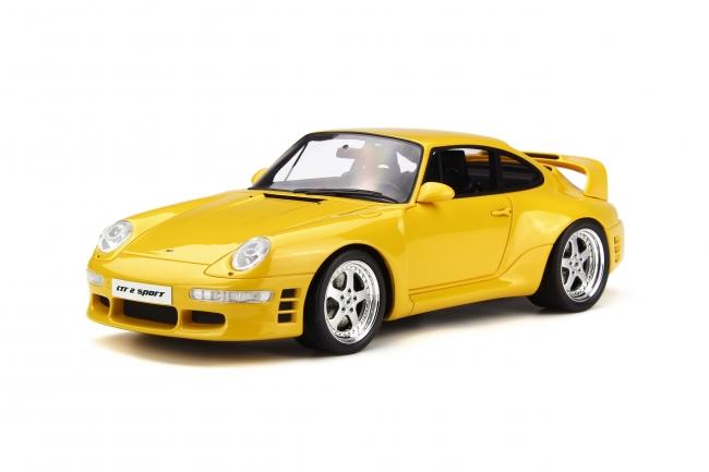 GT SPIRIT 1/18 1997年 RUF CTR 2 Sport スピードイエロー1997 RUF CTR 2 SPORT 1/18 GT Spirit EUR