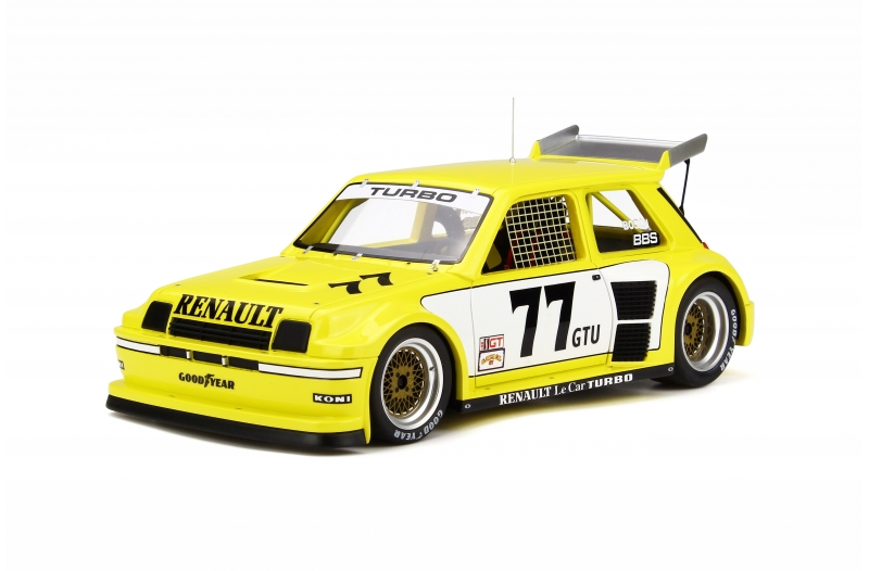 OttOmobile オットモビル 1:18 1981年ISMA ルノー Le Car Turbo イエロー1981 Renault Le Car Turbo ISMA 1 1/8 by OttOmobile NEW