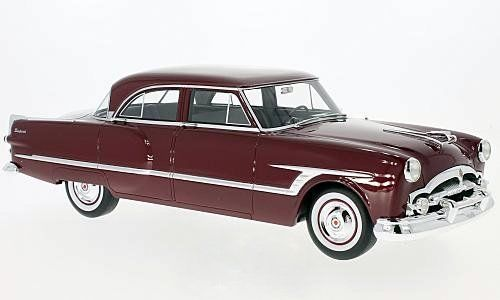 BoS 1:18 1953年モデル パッカード キャバリエ ダークレッドPackard Cavalier 1953 dark red 1:18 BoS-Models NEW