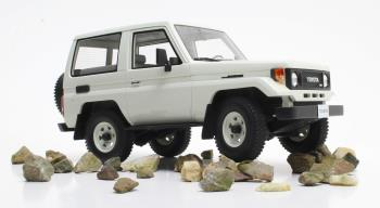 Cult Models 1:18 1984年モデル トヨタ ランドクルーザーBJ70 ホワイトTOYOTA - LAND CRUISER BJ70 1984 1/18 by Cult Models NEW