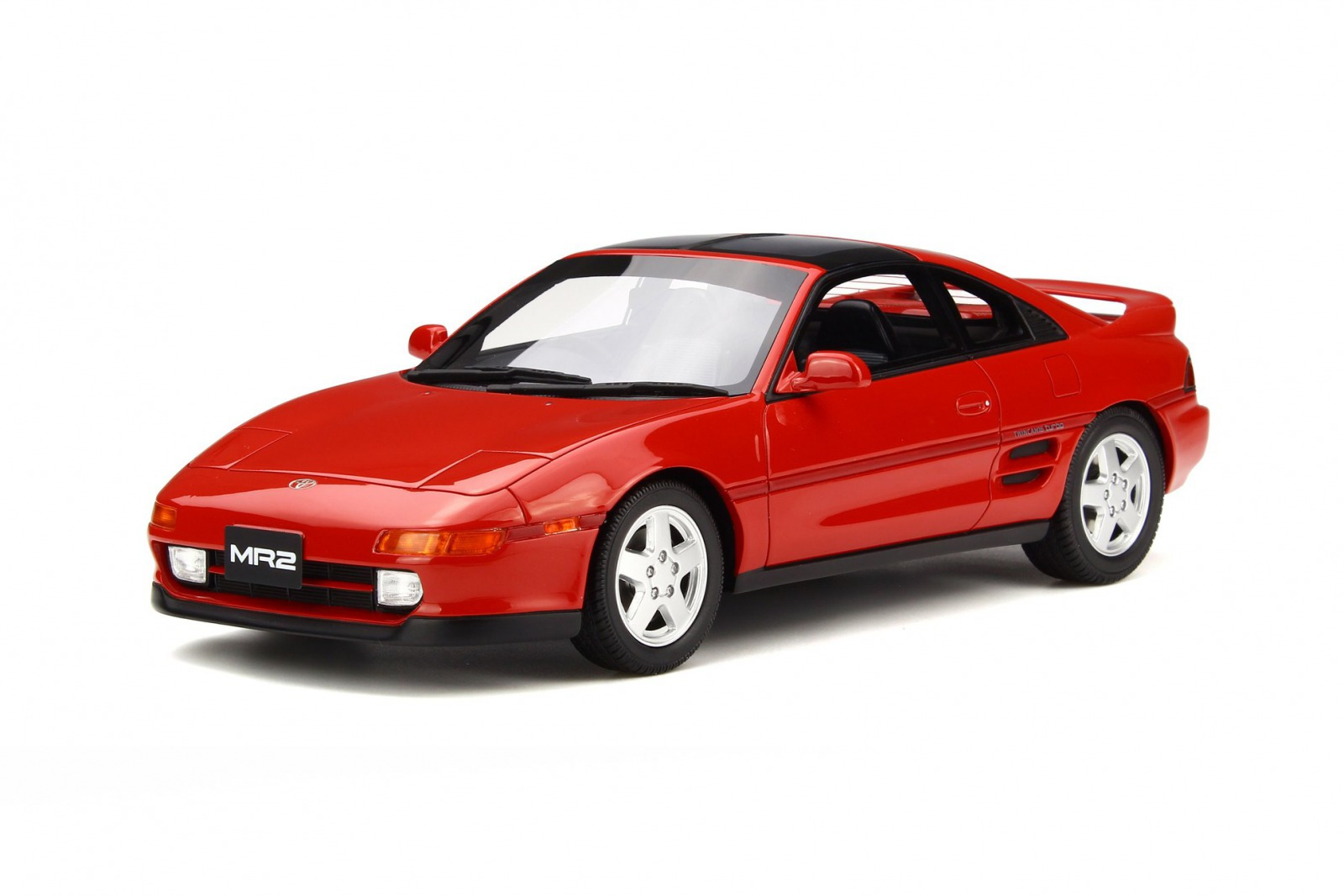 OttOmobile オットモビル 1:18 1992 Model Toyota Supra MR2 Supermarket Red 1992  Toyota MR2 1/18 Super Red II 3E5 By OttOmoble NEW
