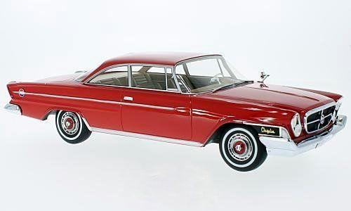 BoS Models 1:18 1962年モデル クライスラー 300H ハードトップ レッドChrysler 300H 2-Door Hardtop 1962 1/18 by BOS Models