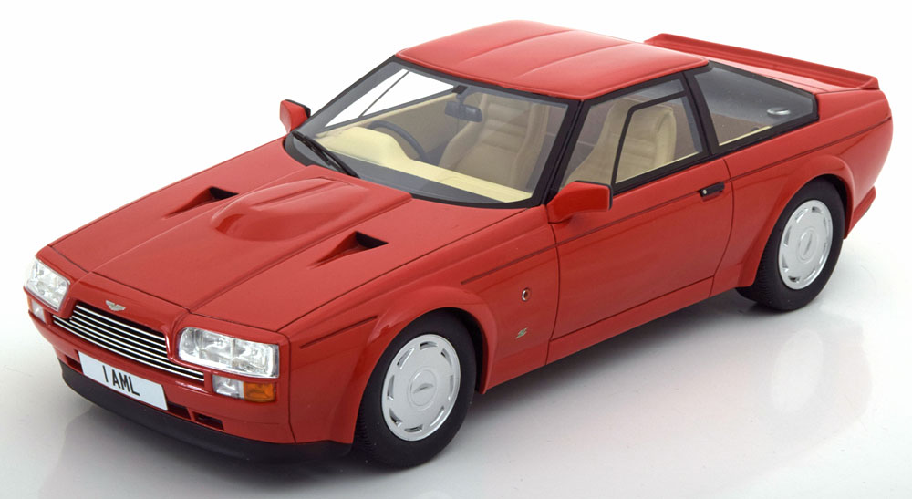 Cult Models カルトモデル 1:18 1986年モデル アストンマーチン V8 ザガートクーペ レッドASTON MARTIN - ZAGATO COUPE 1986 1/18 by Cult Models NEW