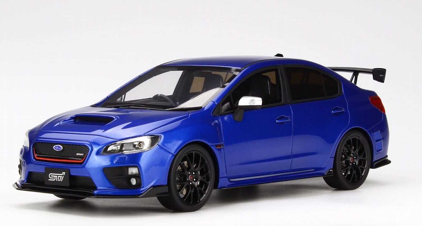 Kyosho 京商 400台限定 1:18 2016年モデル スバル WRX STI S207 NBR Challenge Package WRブルーマイカ2016 Subaru WRX STI S207 NBR Challenge Package resin Samurai series 1/18 by Kyosho JPN