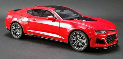 GT Spirit 1:18 2017 シボレー カマロ ZL1 レッド2017 Chevrolet Camaro ZL1 Resin Model in 1:18 Scale by GT Spirit NEW USA