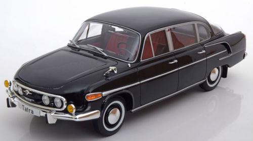 BOS Models 1:18 1969年モデル タトラ 603 ブラック 1969 Tatra 603 Black Color by BoS Models LE of 1000 1/18 Scale by BOS Models