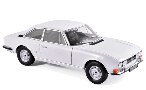 Norev 1:18 1967年モデル プジョー 504 オーロラホワイト1967 Peugeot 504 1/18 by Norev