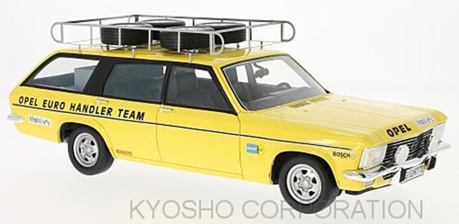 Premium ClassiXXs 1/18 オペル アドミラル B キャラバンOpel Euro Handlerチーム 19741974 Opel Admiral B Caravan Opel Euro Handler Team 1/18 by Premium ClassiXXs NEW