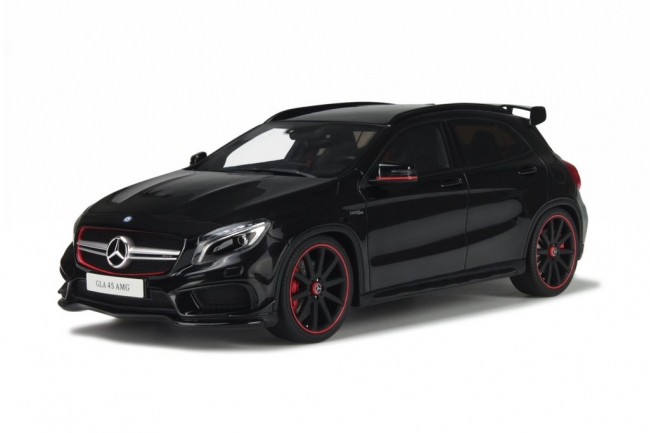 Norev ノレヴ 1:18 2014 Model Mercedes Benz GLA Class Black 2014 Mercedes  GLA Klasse 1/18 Black Diecast Car Model By Norev