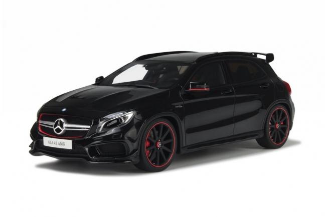 GT Spirit 1:18 2015年モデル メルセデス ベンツ GLA 45 AMG ブラック EUR2014 MERCEDES-AMG GLA 45 1/18 black by GT Spirit