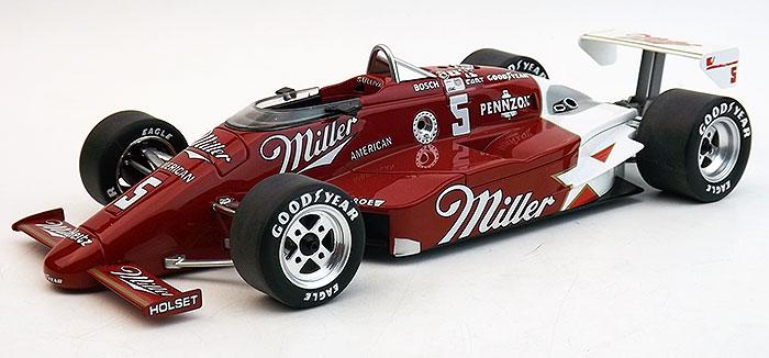 Replicarz 1:18 1985年インディ500 優勝モデル March No.5MARCH - COSWORT TEAM PENSKE CARS MILLER N 5 WINNER INDIANAPOLIS INDY 500 1985 D.SULLIVAN 1/18 Diecast Model Car by Replicarz