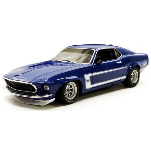 ACME 1/18 1969年モデル フォード マスタング BOSS 302 ブルー1969 Boss 302 Trans Am Mustang 1/18 blue by Acme NEW