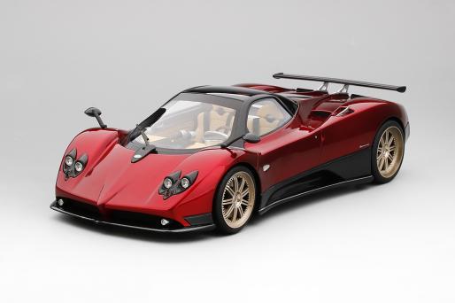 Top Speed 1:18 2006年モデル パガーニ ゾンダ F Rosso Dubai レッド2006 Pagani Zonda F Silver 1/18 Rosso Dubai by Top Speed EUR