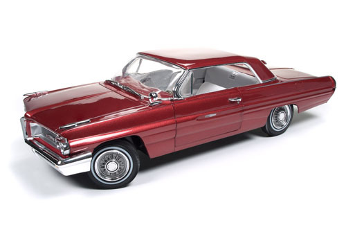 Autoworld オートワールド 1:18 1962年モデル ポンティアック グランプリ ベルマーレッド1962 Pontiac Grand Prix Belmar Red Limited Edition to 1002pcs 1/18 Diecast Model Car by Autoworld