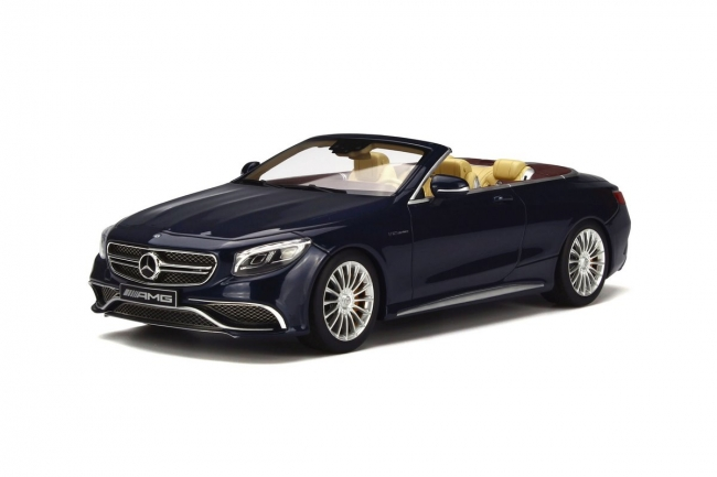 GT Spirit 1/18 2016年モデル メルセデスベンツ AMG S65 カブリオレ 2016 MERCEDES-AMG S65 CONVERTIBLE 1/18 by GT Spirit