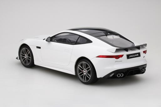 dtw corporation: top speed 1:18 2017 model jaguar f-type svr グ