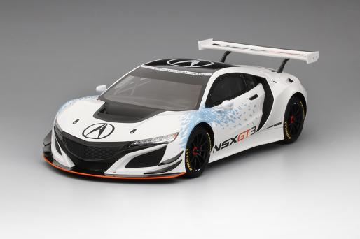 TOP SPEED 1:18 2016年NY オートショー 2017年モデル アキュラ NSX GT3Acura NSX GT3 Presentation 2016 NY Auto Show 1/18 by Top Speed トップスピード