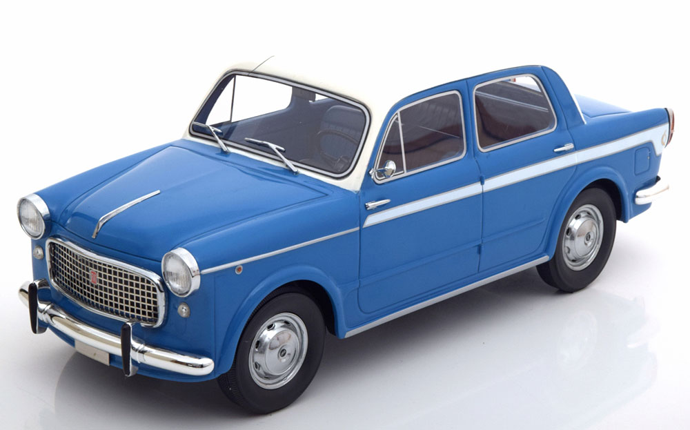 BoS 1:18 1955年モデル フィアット 1100 Lusso ブルーFiat 1100 Lusso blue / White 1:18 BoS-Models