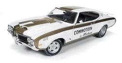 オートワールド 1:18 1969年モデル オールズモビル 455 American Muscle 1969 Hurst/Olds 455 Commotion by Motion 1:18 Scale Diecast