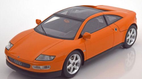 BOS 1/18 1991年 フランクフルトモーターショー アウディ クアトロ コンセプト オレンジAudi Quattro Spyder Concept Car IAA Frankfurt 1991 orange 1:18 BoS-Models