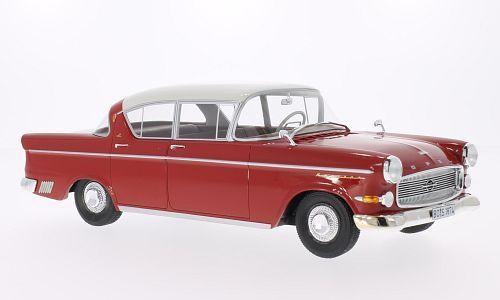 BoS Models 1958年モデル オペル カピテーン P 2.5 レッド・ホワイトOpel Käpitan P 2.5 red / white 1:18 BoS-Models