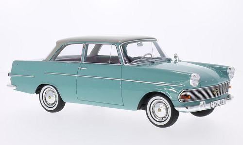 BoS Models 1961年モデル オペル レコルト P2 ライトグリーンOpel Rekord P2 Year 1961 lime / light gray 1:18 BoS-Models