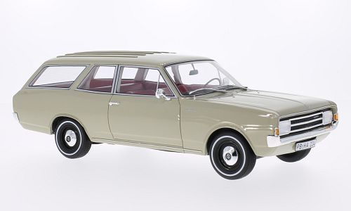 BoS Models 1970年モデル オペル レコルト C キャラバン ベージュOpel Rekord C Caravan beige 1:18 BoS-Models