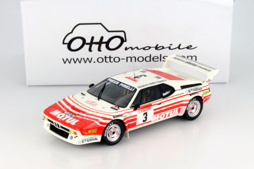 OttOmobile オットモビル 1:18 1983年 BMW M1 グループ B BMW M1 Groupe B Tour de Corse 1983 1/18 by OttOmobile