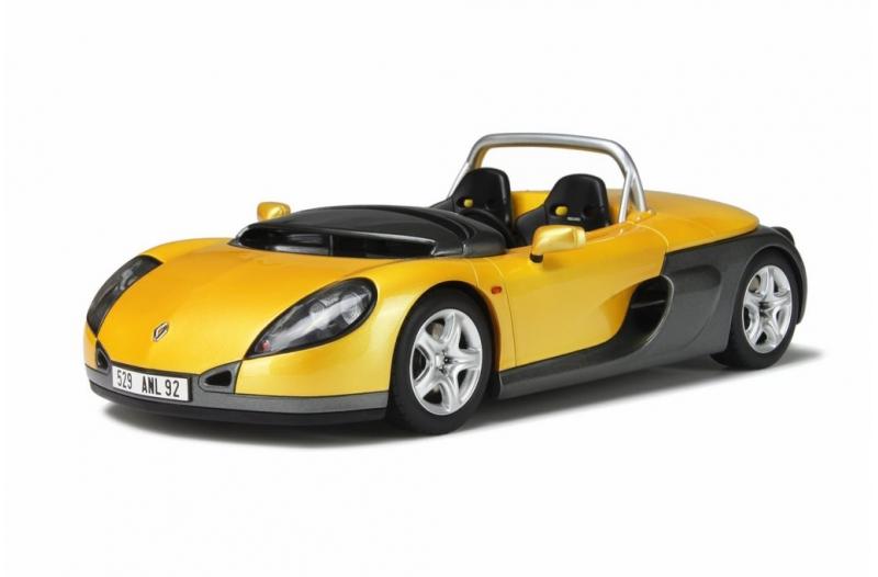 オットモビル 1:18 1996年モデル ルノー スパイダー イエロー1996 Renault Spider