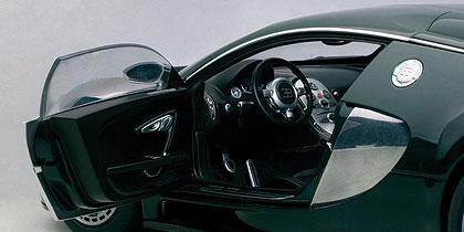 AUTOart 1 / 18 2009年型號布加迪威龍 L '版桑特奈爾賽車 2009年綠色布加迪威龍 L' 桑特奈爾版 1 / 18 由 AUTOart