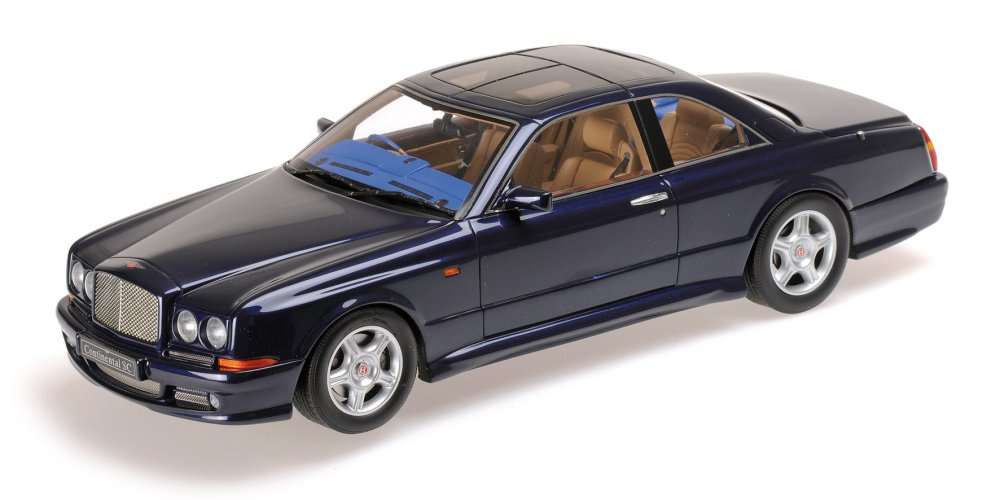 CONTINENTAL ミニチャンプス コンティネンタル blue - SC dark Minichamps metallic ベントレー 1:18 SC 1996年モデル 1:18 ダークブルーBENTLEY