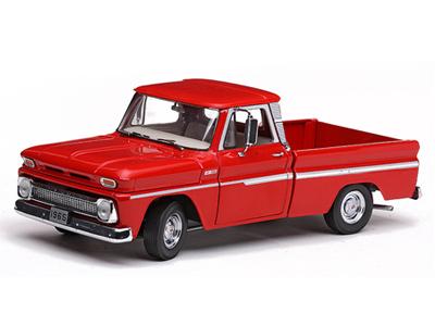 1965年モデル シボレー ピックアップ C-10 スタイルサイド 1965 Chevrolet C-10 Styleside Pickup Truck 1/18 Diecast Model by Sunstar